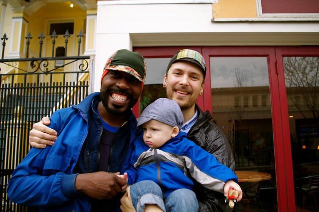 Chuey, Otto & me