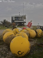 09-02-2011 Rye Harbour Office (Tom Dauben) Tags: sea 2 building apple yellow tom river landscape sussex office kent mac aperture angle harbour wide olympus rye anchor wa 365 shipping buoys tidal markers buoy foreground rother ryeharbour f35 e500 2011 buoyant 1442mm borderfx dauben wwwdaubencouk