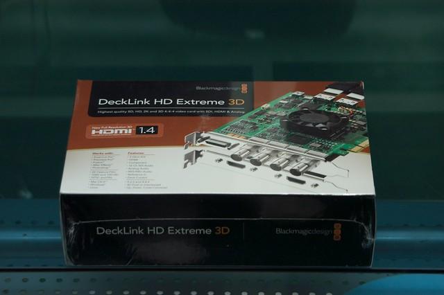 Fs Blackmagic Design Decklink Hd Extreme 3d