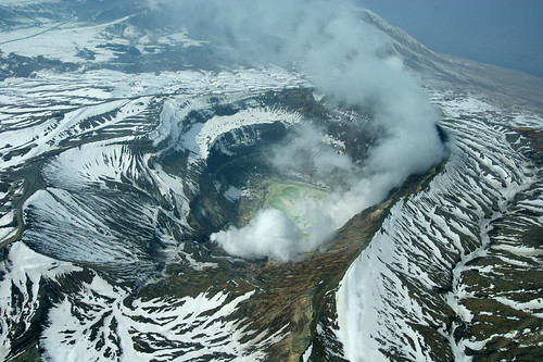 Mt. Aso 阿蘇山中岳火口