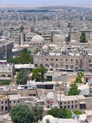 Syria / فوق أسطح المنازل في حلب