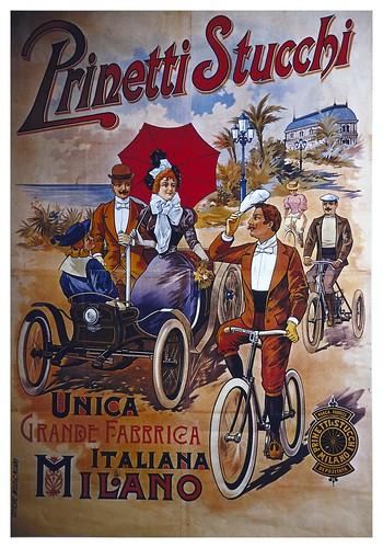 016-Carteles de bicicletas antiguas