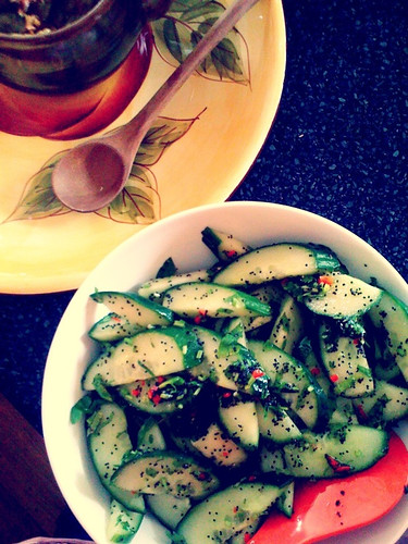 Allison's Cucumber Salad