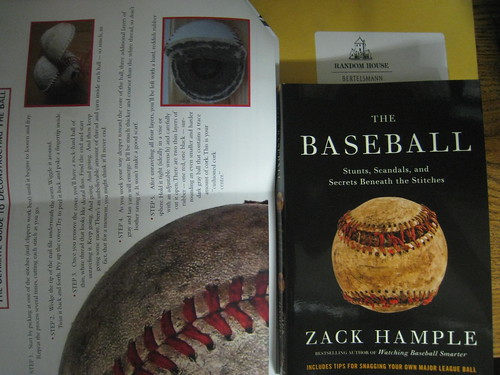 "Zack Hample ""The Baseball"" Book"