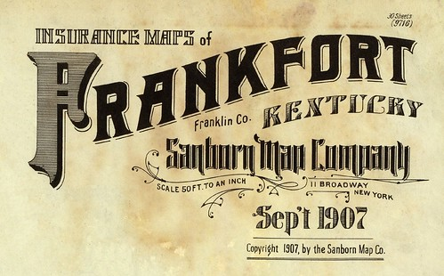 Frankfort, Kentucky September 1907