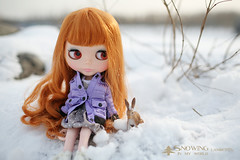 snowing in my world