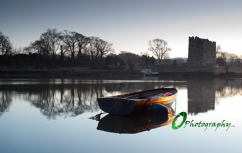 Rowing Boat at Narrow Water Castle