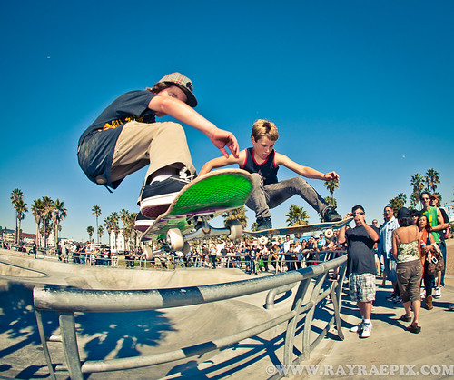 Shane Borland and Alex - doubles jump outta the park - 2-12-11