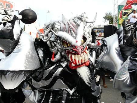 Diablos Cojuelos En el Carnaval de Bonao
