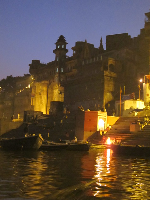 Lights on the ghats