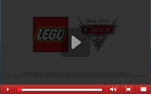 LEGO Cars 2 Theme Site Now Open