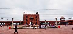 DSC_1550w Jama Masjid of Delhi (camera30f) Tags: jama masjid islam islamic mosque imam moghul india delhi emperor architecture day light color