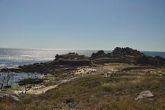 Castro de Baroña. Galicia. Playa (adribouzada) Tags: celtas baroña agua mar azul galicia