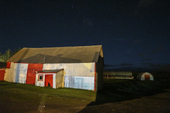 Clear Sky (Danny VB) Tags: night photo photography sky stars gaspesie summer farm farminglife clearsky clear étoiles nuit canoneosm10
