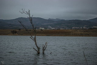 Flooded mining areas
