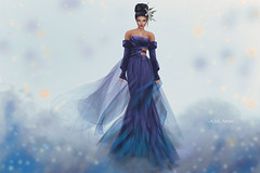 (IMAGE) -AZUL- Maile (mami_jewell) Tags: azul dress gown formal flexi mesh fitmesh train sleeves misssl maile usa contest competition sl secondlife avatar virtual fashion