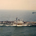 HMS Hermes and HMS Illustrious 20/07/1982 in the English Channel