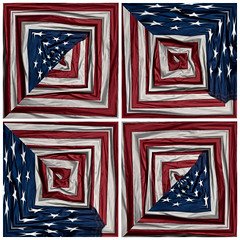 four folded flags (pbo31) Tags: livermore pleasanton eastbay alamedacounty iphone7 color july 4th summer 2017 boury pbo31 flag america usa pattern independenceday july4th red white blue american stars starsandstripes holiday