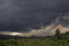 Storm's a Brewin' (Len Langevin) Tags: storm clouds thunder alberta canada kananaskis rocky mountains rockies landscape nikon d7100 nikkor 18300