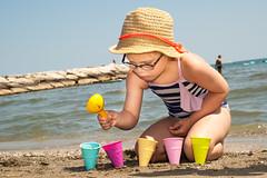 Making sand icecream (Svein Erik Storkås) Tags: 2017 caorle ferie italia