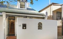 45 Cambridge Street, Rozelle NSW