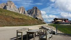Dolomites, des paysages à couper le souffle ! (Gisou68Fr) Tags: dolomites dolomiti italie italia italy sassolungo langkofel colrodella trentin trentino trentinoaltoadige trentinhautadige