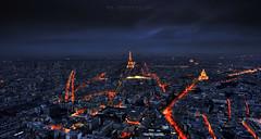 P A R I S (FredConcha) Tags: paris cityscape lights france lanscape toureeiffel city fredconcha nikond800 1635 montparnasse