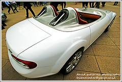 Sports Car Style (ArtOnWheels) Tags: show urban london sports car design style motor mazda canarywharf sportscar 2010 motorexpo worldcars
