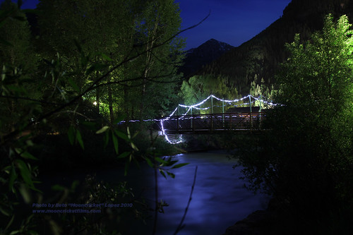 Telluride, Colorado bridge