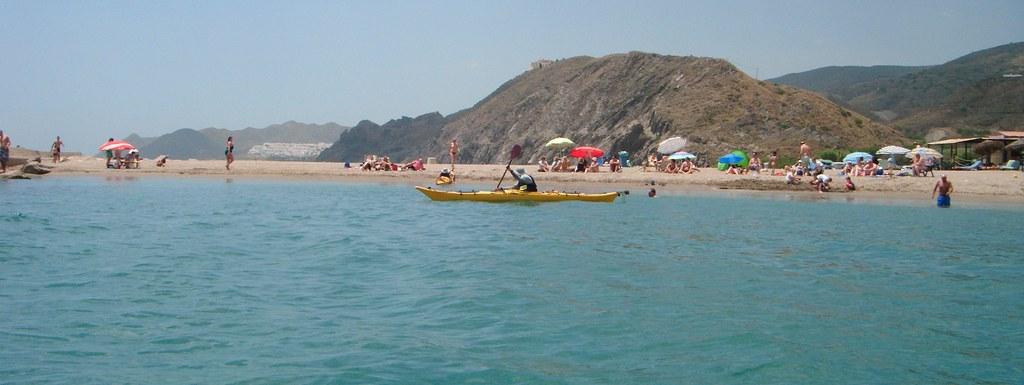 Cabo de Gata en kayak 568