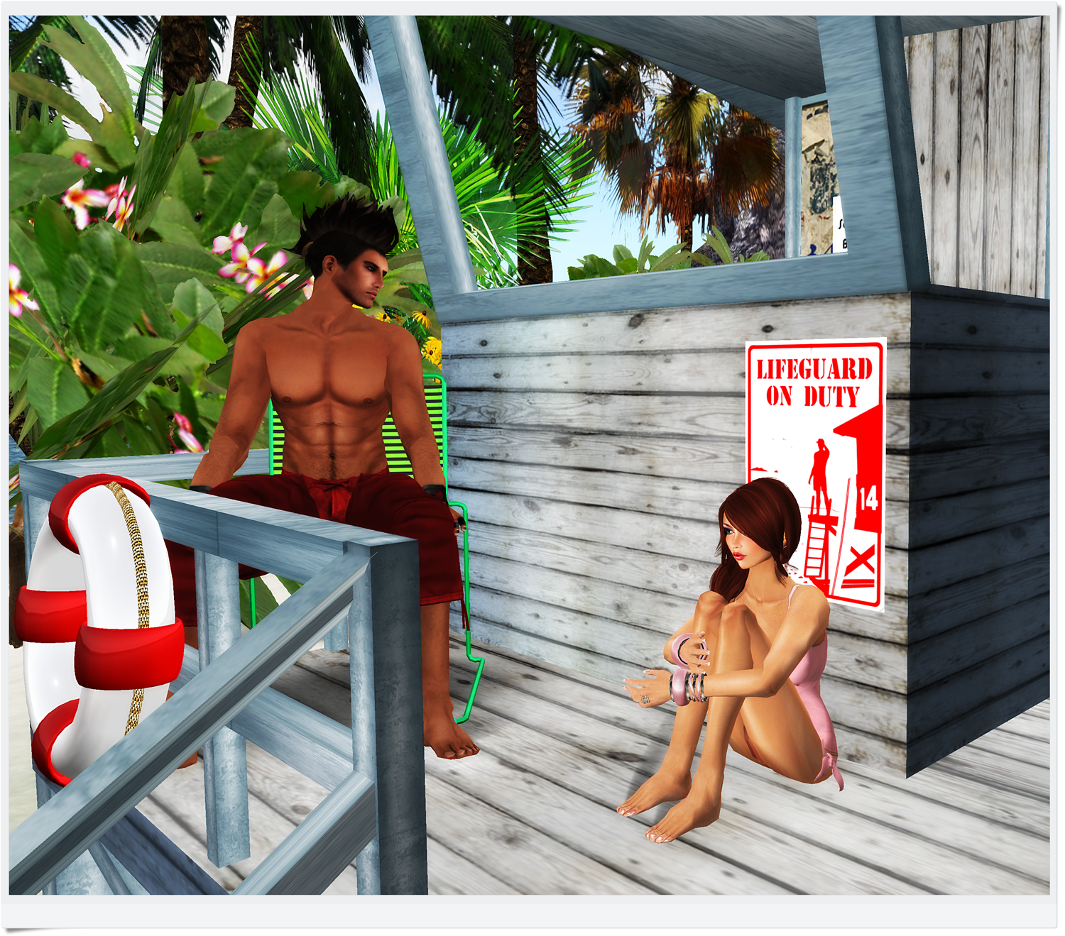 Belle Belle The Naughty Lifeguard