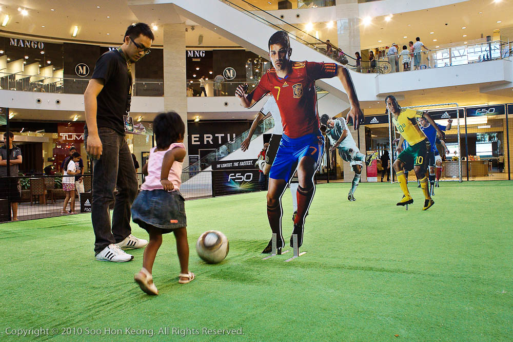 Reaching For Goal @ Pavilion, KL, Malaysia