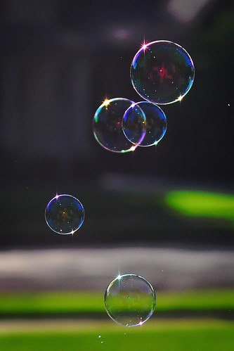 Bubbles and flares