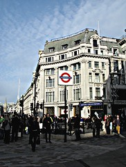 Busy People on a Bright Sunday Morning....... (-RejiK) Tags: street city morning blue sky people white building london station architecture clouds canon shopping underground skies bright metro sunday tube january sunny move junction business busy londonunderground oxfordcircus poeple londoncity january10 whiteclouds londonstreet londonmetro g9 oxfordcirus londonvisitjan10 cimmuting