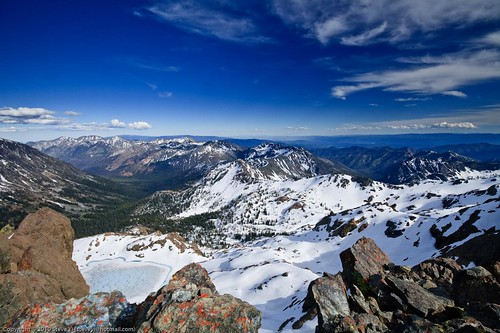 Ingalls Peak - view east