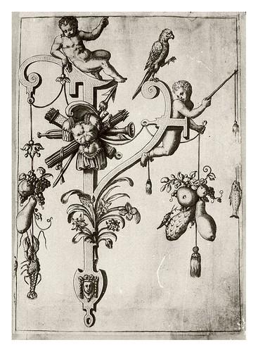 023-Letra Y- angeles jugando-Neiw Kunstliches Alphabet 1595- Johann Theodor de Bry
