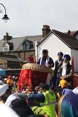 Nagara- Battle Drum (KhalsaSoulja) Tags: uk london newyear april gurdwara southall sikhism nagara singh sangat kaur sikhi havelockroad gurmukhi nagarkirtan panth vasakhi gurmukh jaloos basakhi khalsasoulja sikhwardrum sikhbattledrum