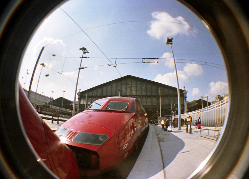 Thalys à Gare du Nord