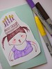 birthday girl (DearYouFromKozue) Tags: birthday girl pen drawing marker sharpie