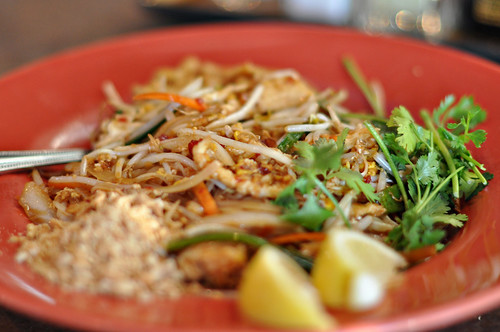 Pad Thai at Goilden Wok ~ Austin, TX