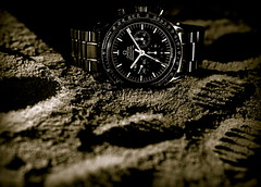 To The Moon And Back (Silje K) Tags: moon nikon swiss watch omega tracks nasa explore speedy speedmaster fp frontpage speedlight chrono strobist sb900 officialmoonwatch