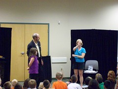 ys-srp-kick-off 018 (eg_library) Tags: magician summerreadingprogram eastgreenbushlibrary jimsnack