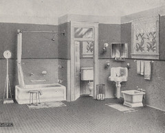 Typical Bathroom in 1918