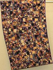 """Priscilla Stultz Purple Desire 34"""" x 54"""""""