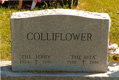 cauliflower gravestone