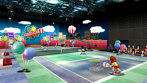 Everybody's Tennis PSP Screenshot