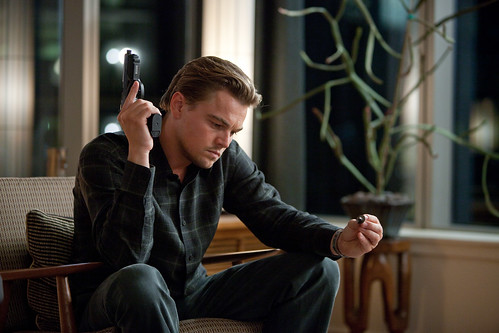 Titanic star Leonardo DiCaprio in Inception