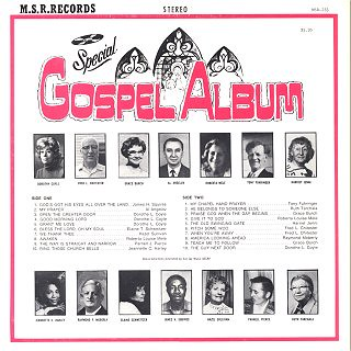MSR Records Special Gospel Album