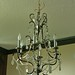Presidential Suite dining area chandelier