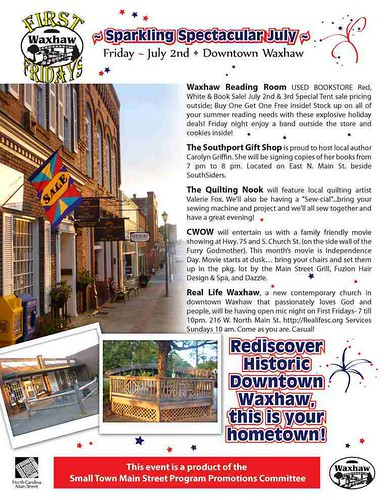Waxhaw First Friday July 2